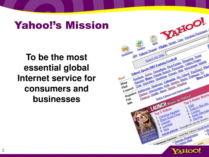 Yahoo!'s Mission