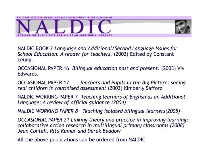 NALDIC BOOK 2