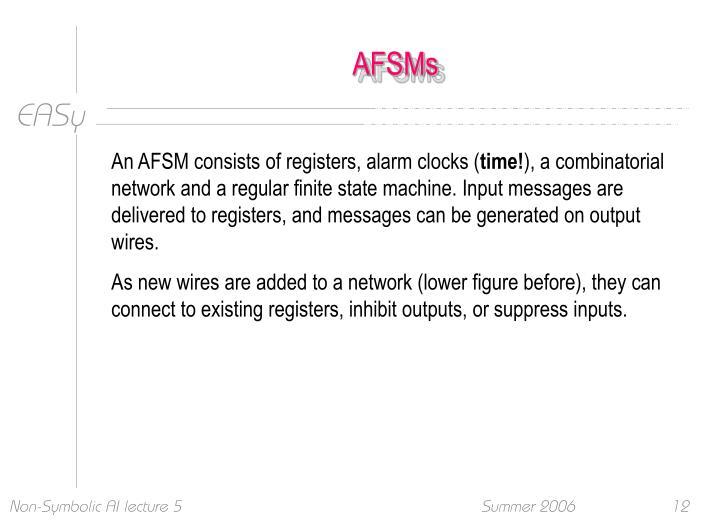 AFSMs