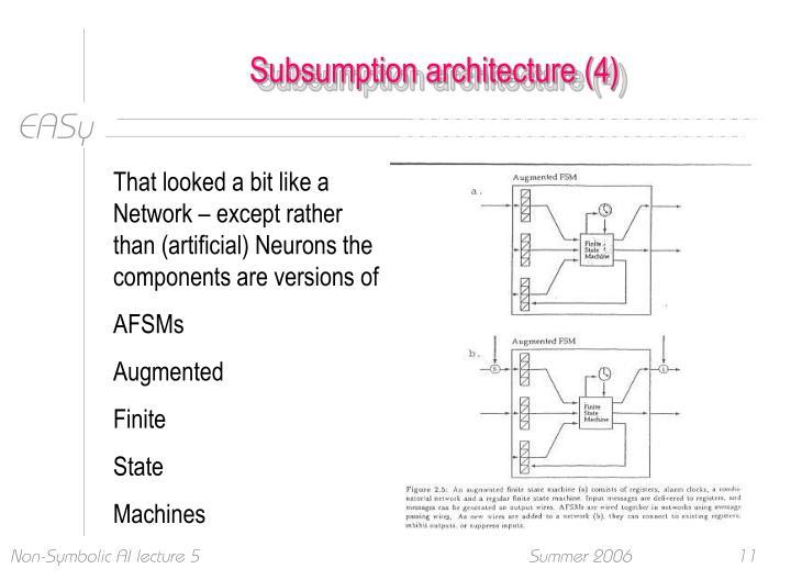 Subsumption architecture (4)