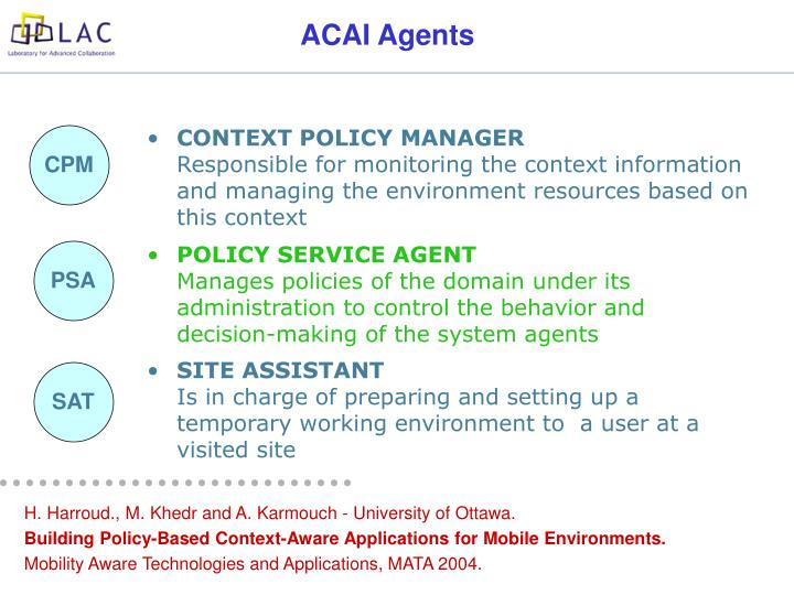 POLICY SERVICE AGENT