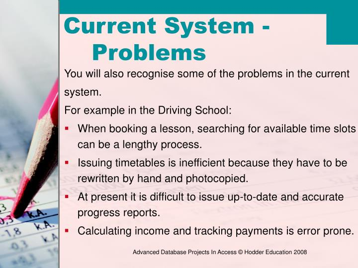 You will also recognise some of the problems in the current