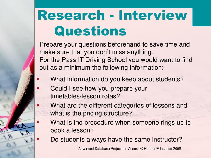 What information do you keep about students?