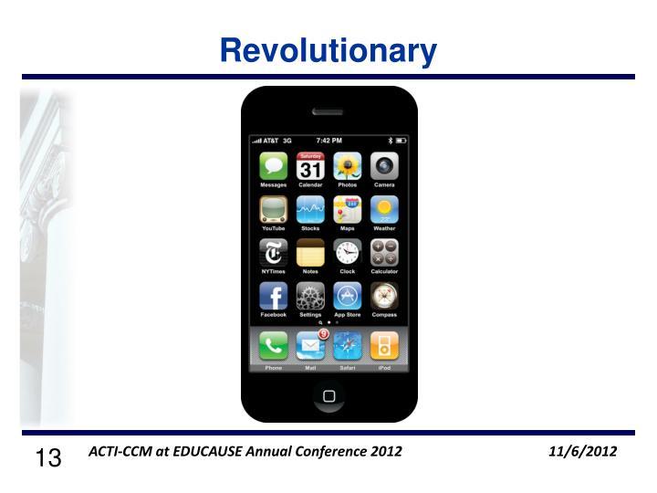 Revolutionary