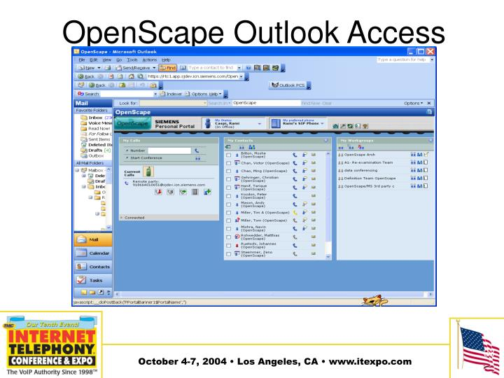 OpenScape Outlook Access