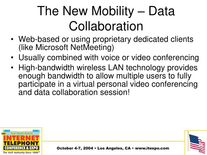 The New Mobility – Data Collaboration