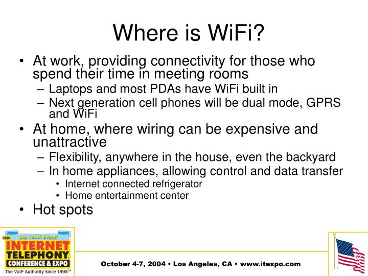 Where is WiFi?