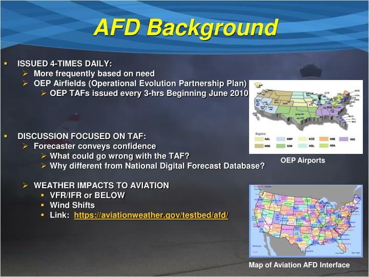 AFD Background