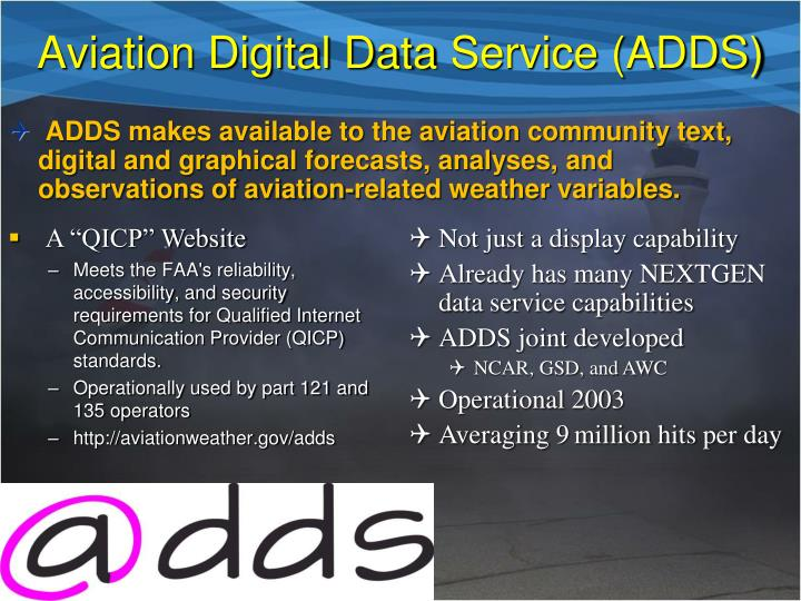 Aviation Digital Data