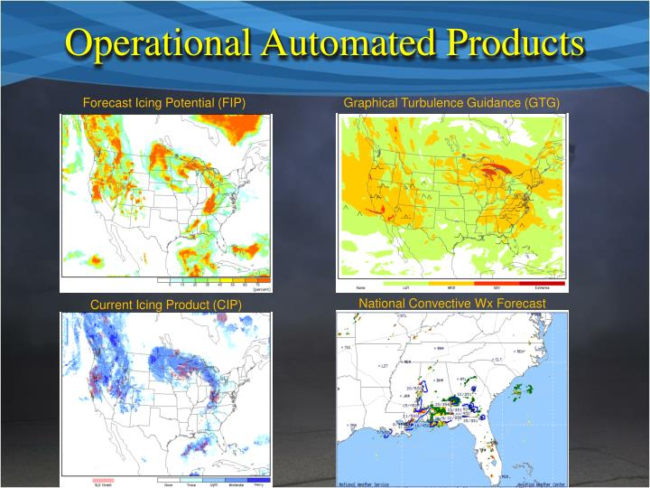 Operational Automated Products