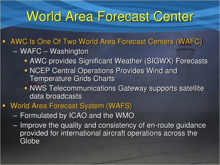 World Area Forecast Center