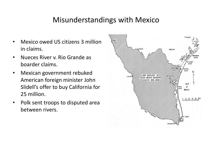 Misunderstandings with Mexico