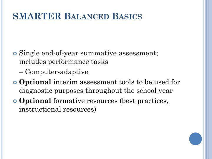 SMARTER Balanced Basics