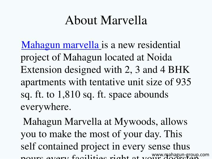 About marvella