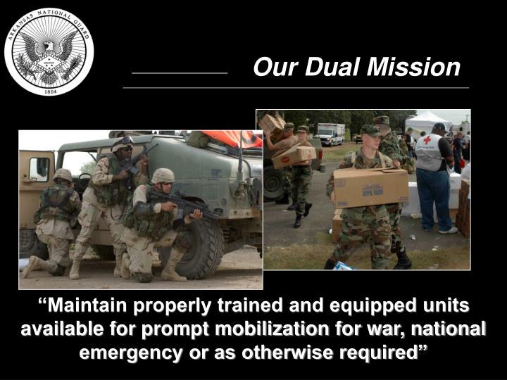 Our Dual Mission