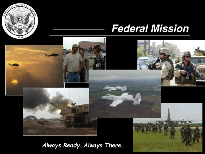 Federal Mission