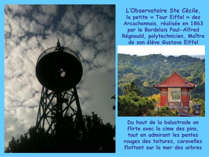 L'Observatoire Ste Cécile