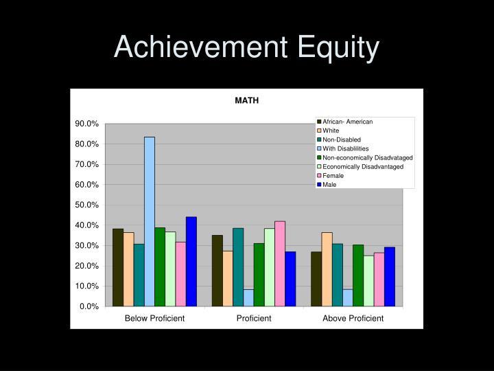 Achievement Equity