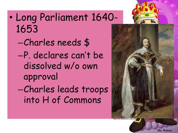 Long Parliament 1640-1653