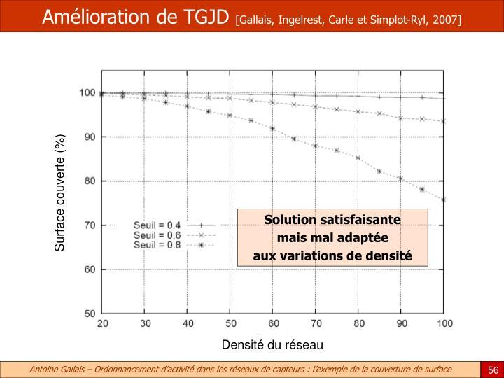Amélioration de TGJD