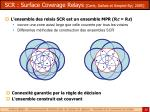 scr surface coverage relays carle gallais et simplot ryl 2005