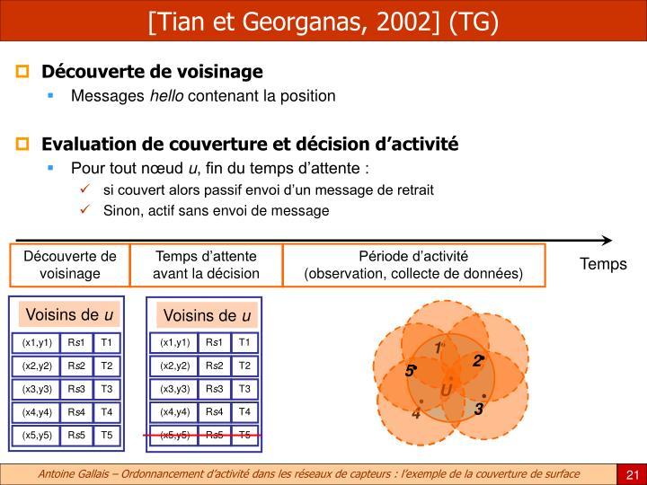 [Tian et Georganas, 2002] (TG)