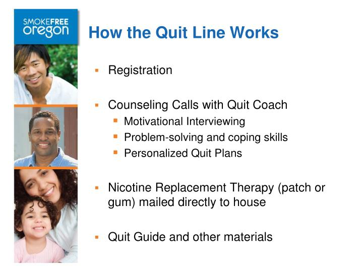 How the Quit Line Works
