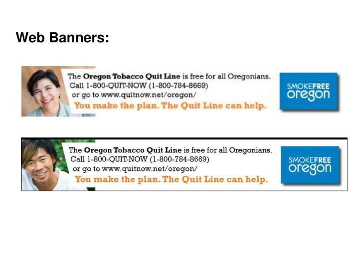 Web Banners: