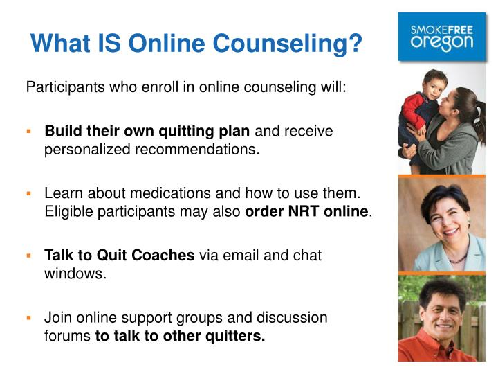 What IS Online Counseling?