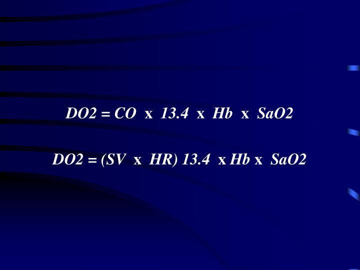 DO2 = CO