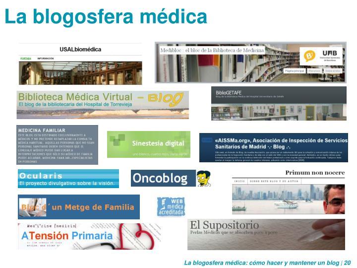 La blogosfera médica
