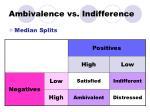 ambivalence vs indifference1