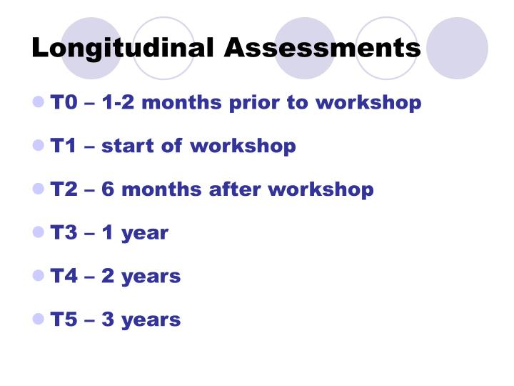 Longitudinal Assessments