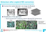 detection after explicit rd correction