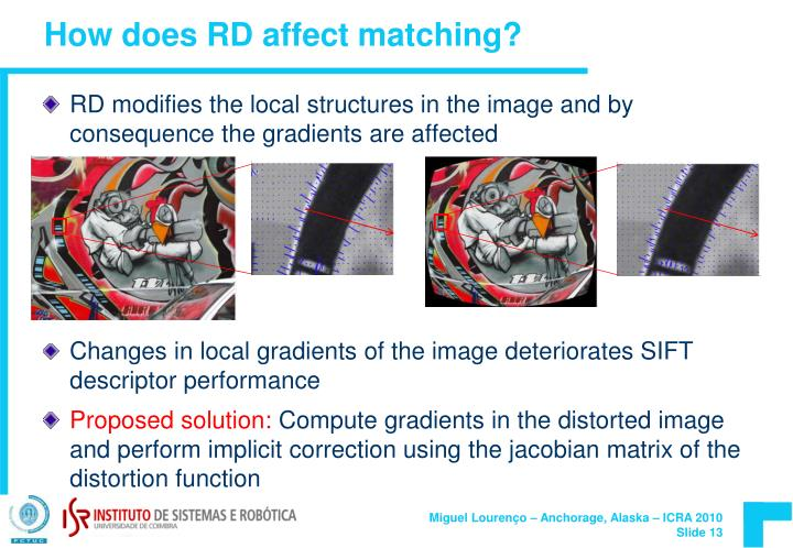 How does RD affect matching?