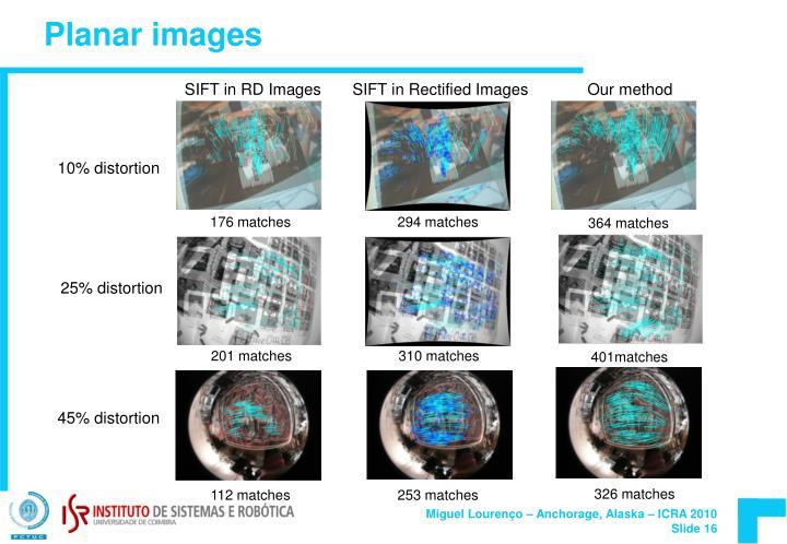 Planar images
