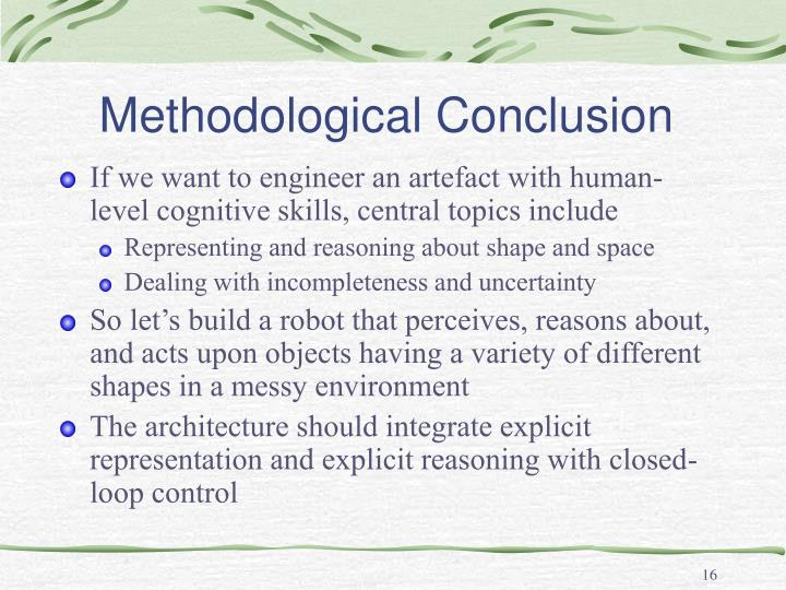 Methodological Conclusion
