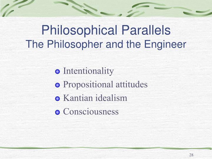 Philosophical Parallels
