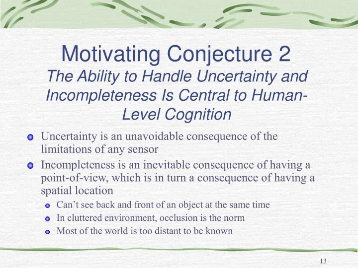 Motivating Conjecture 2