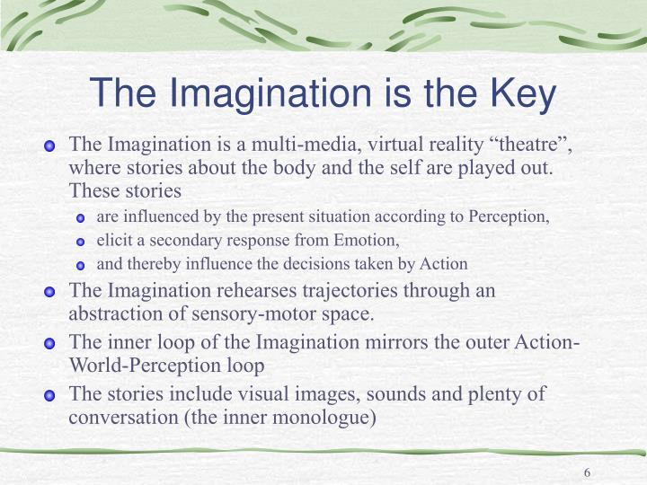 The Imagination is the Key