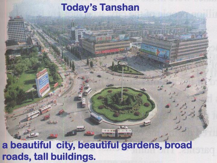 Today's Tanshan