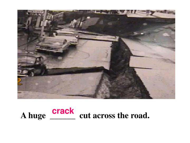 crack