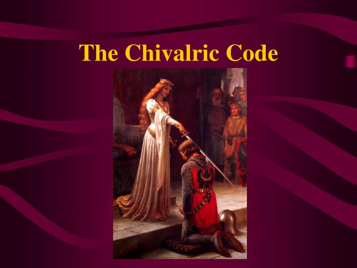 the chivalric code