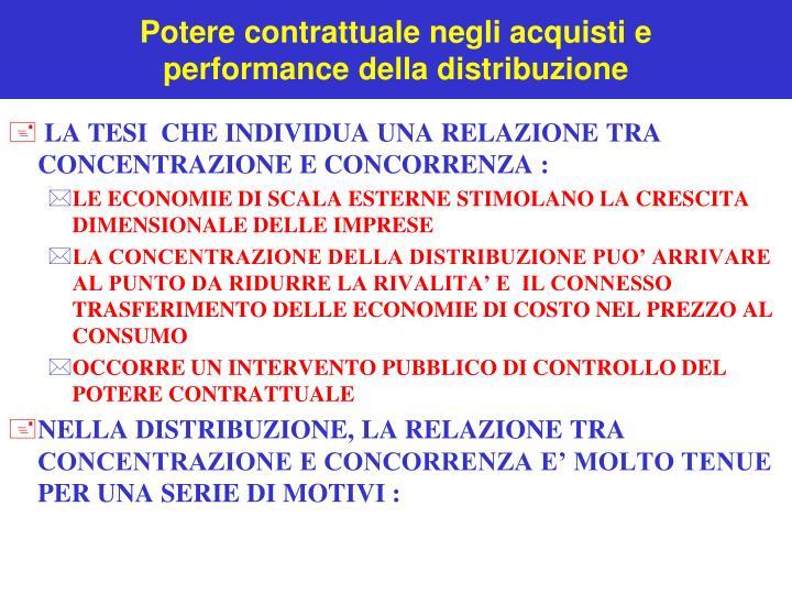 Potere contrattuale negli acquisti e