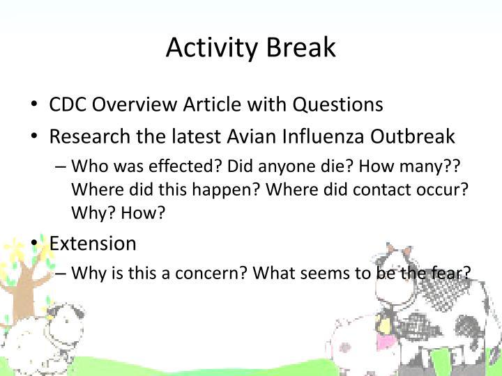 Activity Break