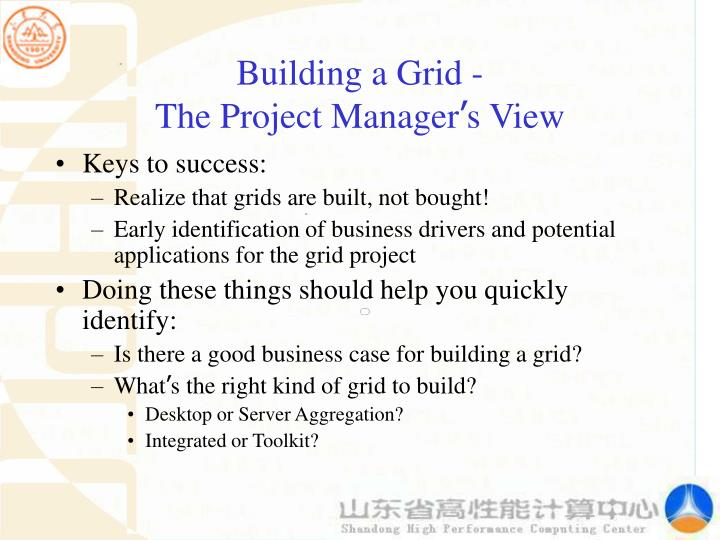 Building a Grid -