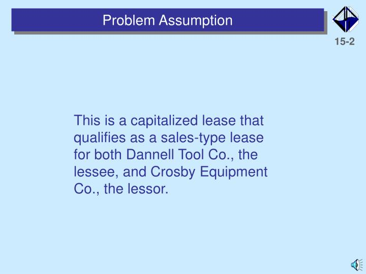 Problem Assumption