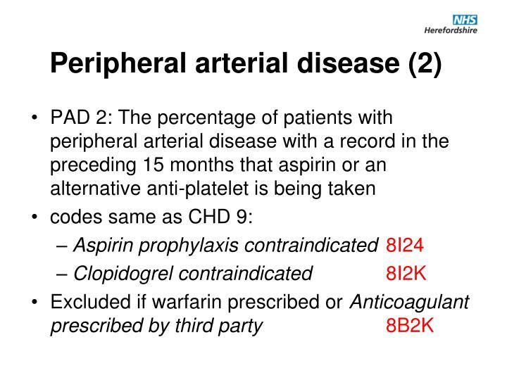 Peripheral arterial disease (2)