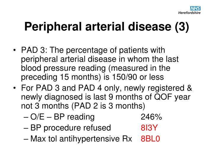 Peripheral arterial disease (3)
