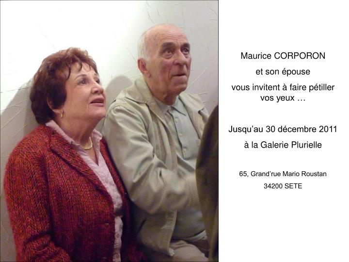 Maurice CORPORON